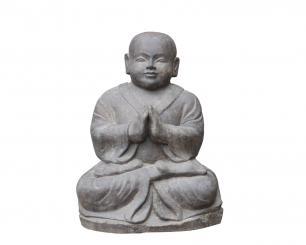"""Asian Monks as kantendeko edges Stool /""""Small Monks/"""" 3er-Set"""