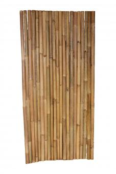 "Bamboo fence element ""Apus"", thin tube, 100 x 200 cm"