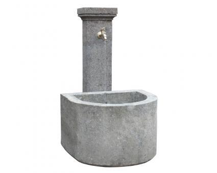 """Natural stone standing fountain model """"Genua"""", 120 cm"""